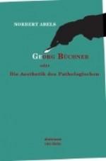 Georg Büchner: Die Ästhetik des Pathologischen